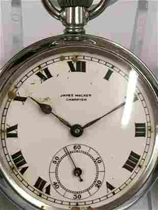 Group of vintage pocket watches and 1 other pedometer