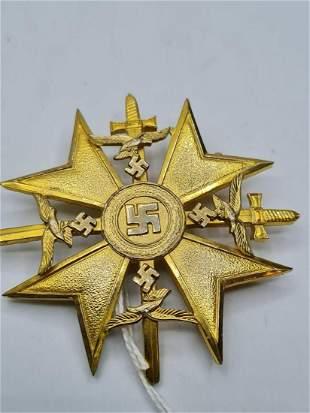 Spanish cross from the Spanish civil war (repro)