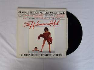 the woman in red vinly album