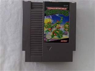 nintendo teenage mutant ninja turtles game untested