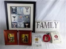 Home Decor Assortment with Frames