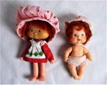 Strawberry Shortcake Dolls- Berry Baby Drink'n Wet
