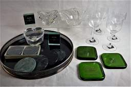 Mikasa Stemware, Crystal Bowl, Frames, Paperweight