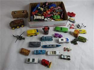 Vintage Die-Cast Toy Cars/ Trucks/ Military