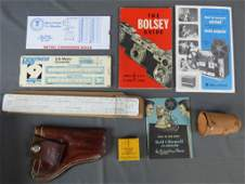 Vintage Photo Collectibles, Rules, Gun Holster