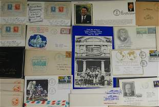 First Day Covers & Vintage Stamp Envelopes