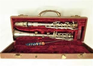 Antique Artist Beaumont Paris Clarinet. France