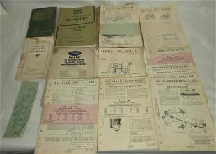 1930's-50's Ford Service Bulletins & Manuals