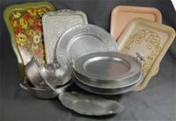 Hand Forged Aluminum Kitchenware Assortment