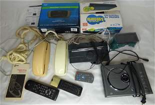 Lot of Vintage Electronics-mPones, DVD Players, Re