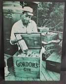 Humphrey Bogart Gordons Gin Advertising Poster