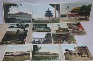 Antique Peking Scenes Photographs Hartung China