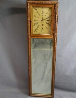 Vintage Ansonia Mirror Wall Clock