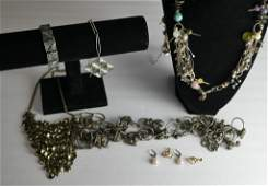 Group of Vintage Costume Jewelry incl Gold Filled