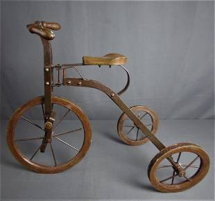 Antique Children Tricycle Bike