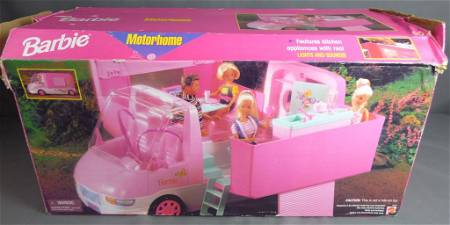 Barbie Traveling Motorhome in Original Box