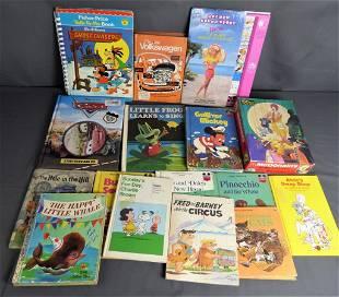 Vintage Children Books- Disney, Barbie