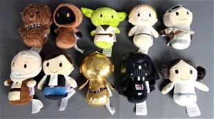 Star Wars Hallmark Itty Bitty Plush Toys