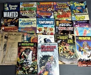 Vintage Comic Books including Twilight Zone