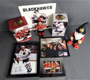Chicago Blackhawks Memorabilia- Signed, Bobblehead
