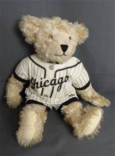 Chicago Sox Baseball Teddy Bear Mary Driscoll