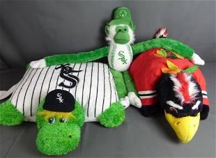 Chicago White Sox & Blackhawks Plush Sport Toys