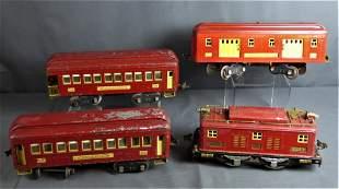 Pre War Lionel No. 8 Electric Engine Train Set