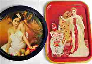 Coca Cola Lillia Norton Nordica1903 Tray & Indian