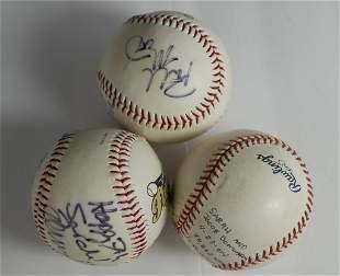 Autographed / Signed Baseball Balls- Cubs