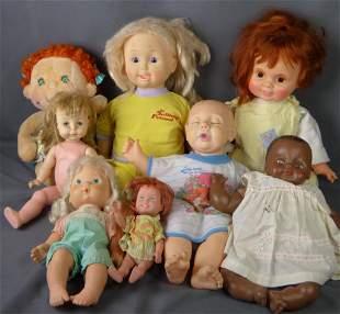 Lot of Vintage Dolls- Talking Friend, Vogue, Ameri