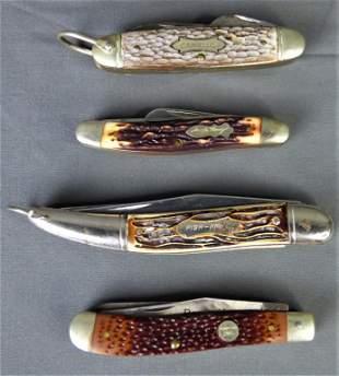 Group of Vintage Pocket Knives- Camillus, Uncle Hn