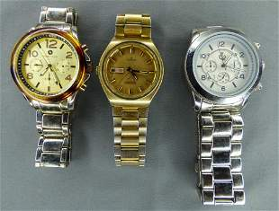 Lot of 3 Men Wrist Watches- Seiko, Vittadini, PD
