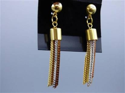 Dangle Copper Earrings. Lot of 10 New