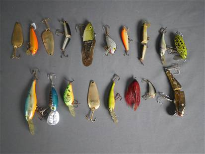 Group of Vintage Fishing Lures