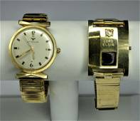 Vintage Mens Wrist Wathces- Wittnauer & Lord Elgin