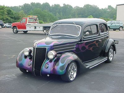 6: 1936 Ford Coupe