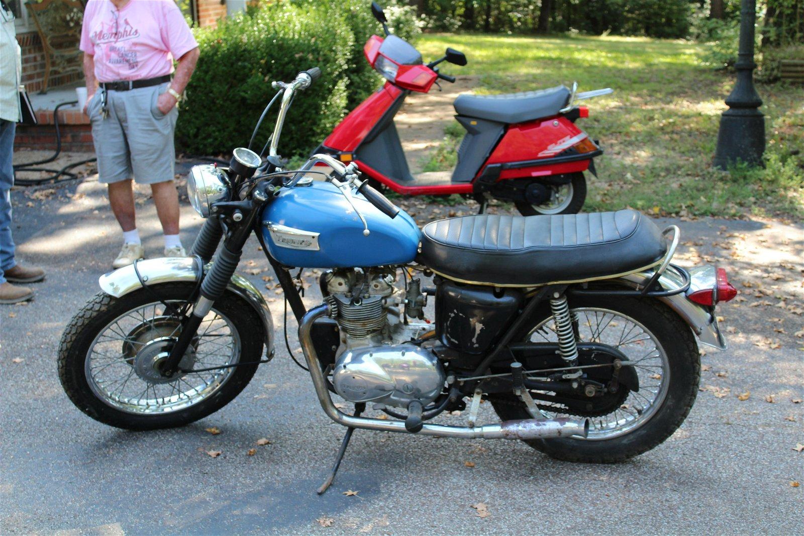 1972 1/2 Triumph 650 Tiger