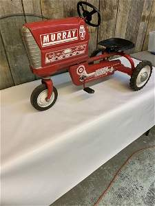 1950s Murray pedal car tricycle front end