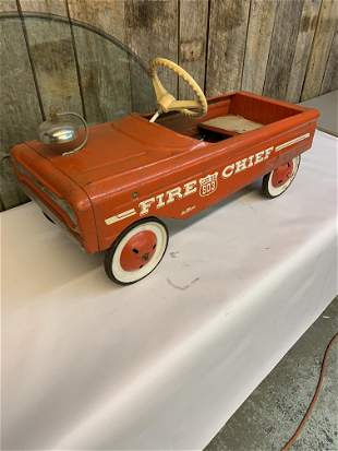 1960s AMF Fire Chief pedal car