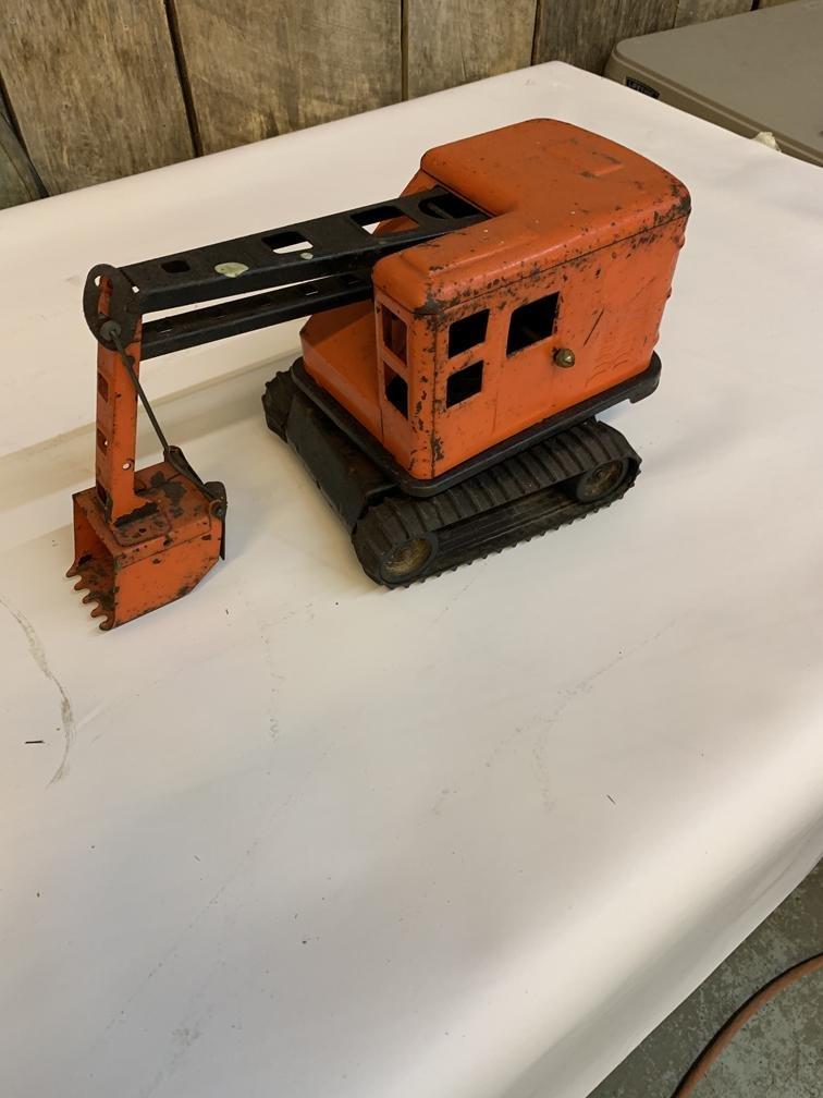 Orange dredge