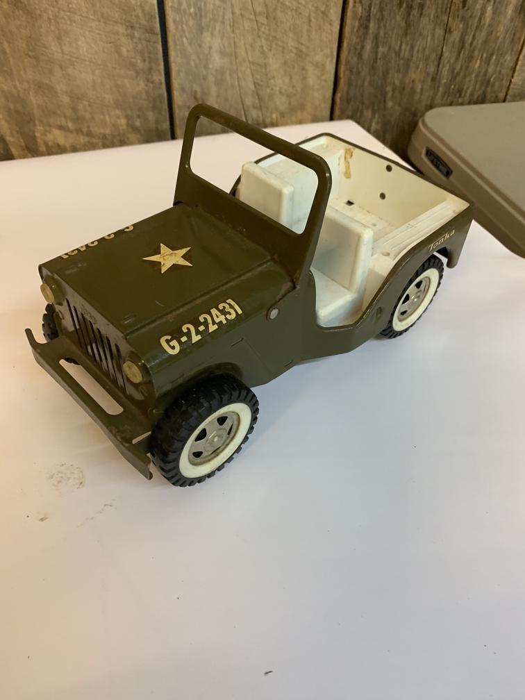 Tonka army Jeep