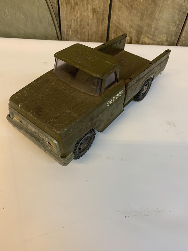 Tonka army truck