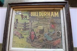 26x29 Bull Durham tobacco ad