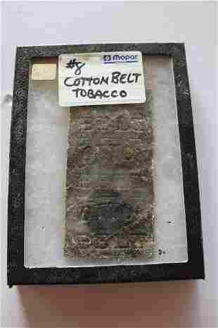 Cotton belt chewing tobacco