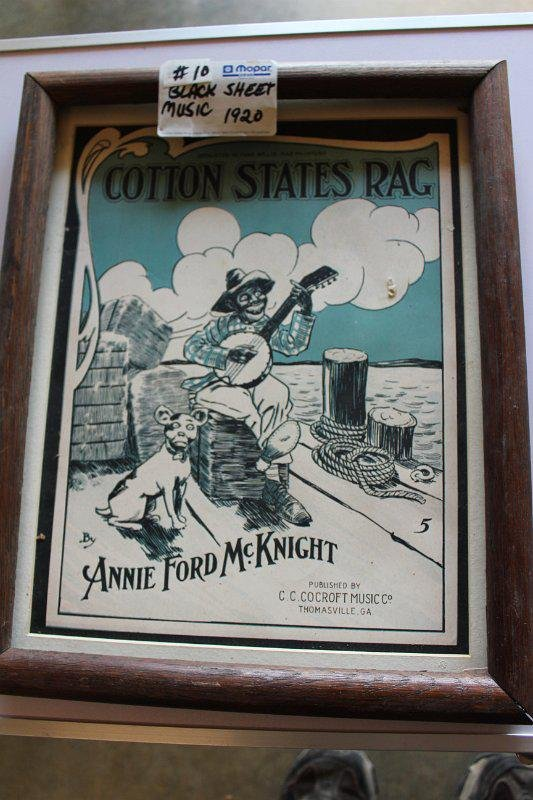 Cotton States Rag sheet music1920