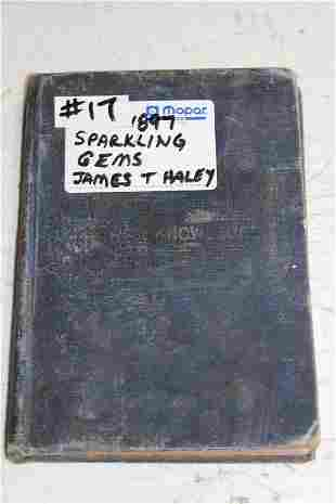 Sparkling Gems book by James T Haley 1897