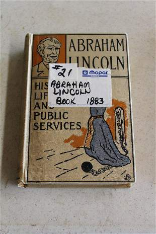 Abraham Lincoln book by Phoebe A Hanford