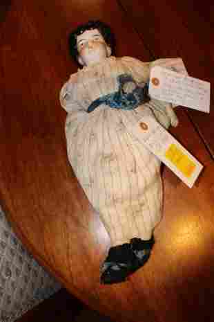 American Bisque doll ca. 1850