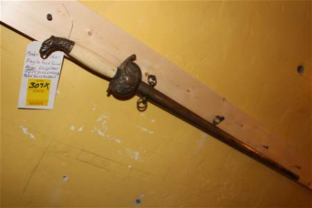 US model 1821 eagle head sword