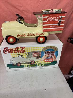 Coca-Cola limited edition deivery truck #563 of 10,000